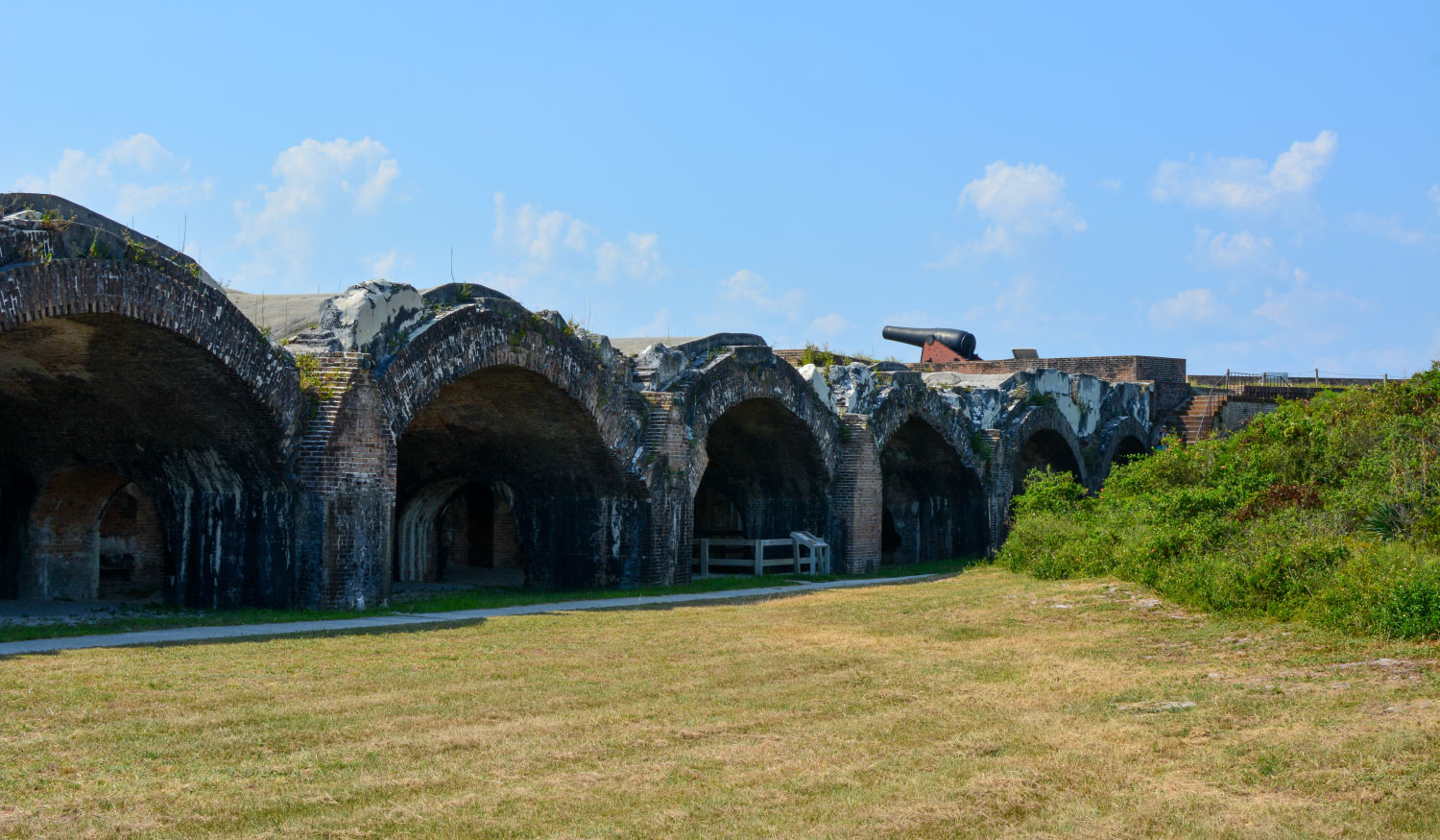Photo of Fort Pickens Site of Florida Civil War Battle