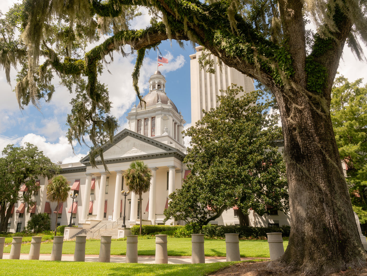 Florida's Capital Building in Tallahassee
