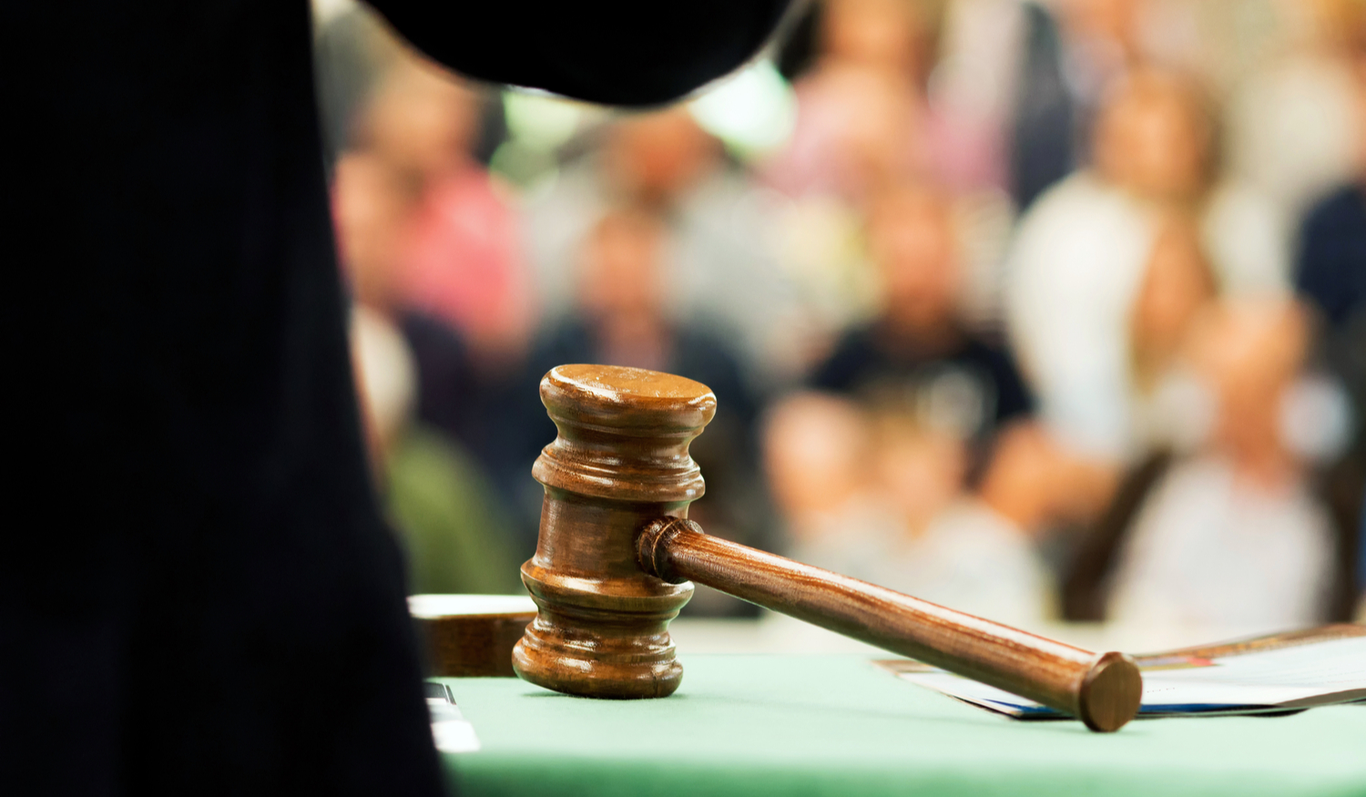 Image of an auction gavel
